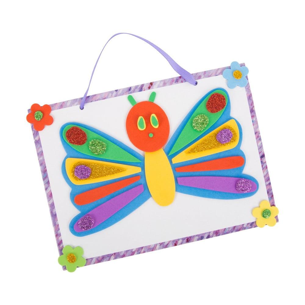 Detský tvorivý set na výrobu nástenného obrázku Legler Caterpillar