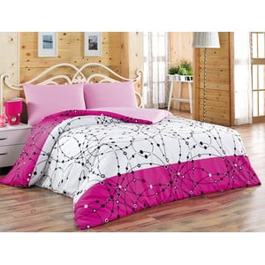 Sada obliečok a plachty Pointed Pink, 200x220 cm