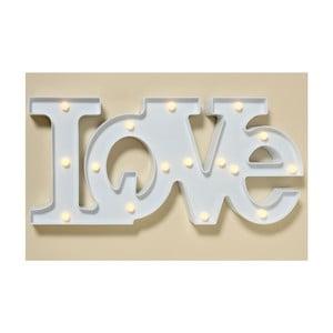 Nástenná LED dekorácia Love