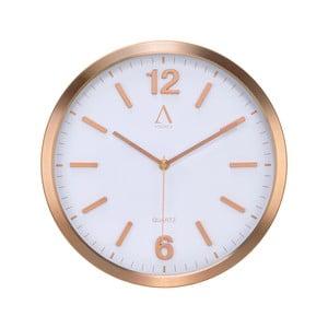Nástenné hodiny Copper, 30,5 cm