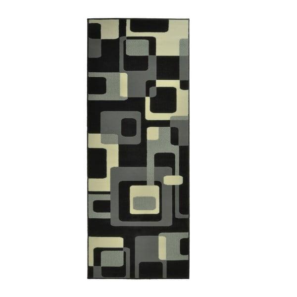 Čierny koberec Hanse Home Hamla Retro, 120×170cm
