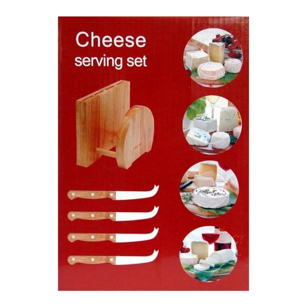 Set na servírovanie syra Utilinox Cheese