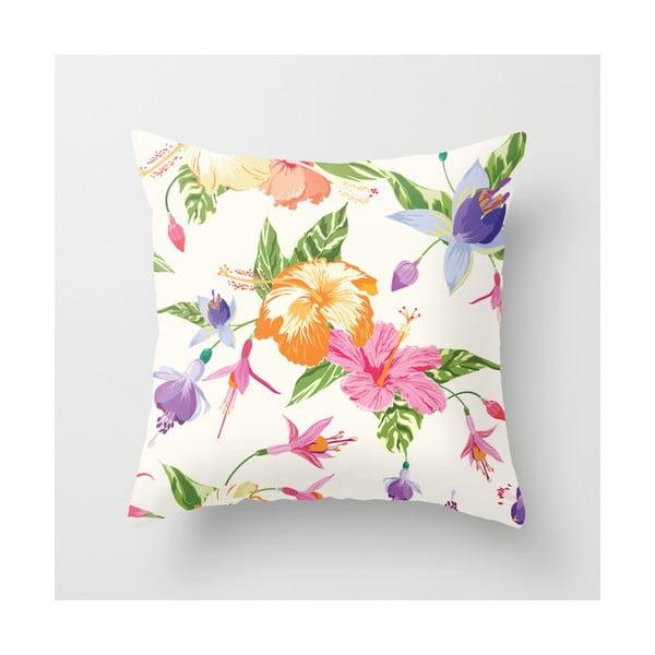 Obliečka na vankúš Floral IV, 45x45 cm