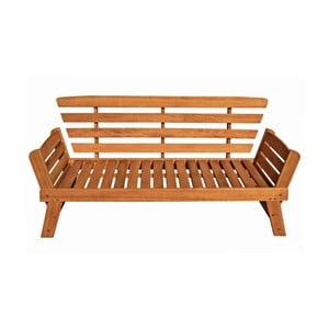 Záhradná lavica z eukalyptového dreva ADDU Fortuna