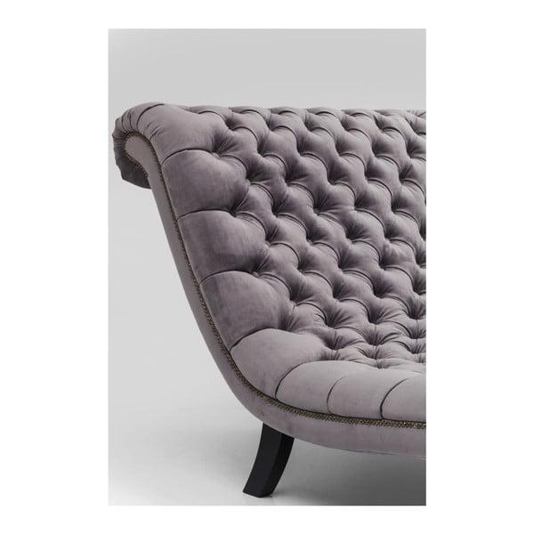 Tmavosivá pohovka Kare Design Desire Velvet