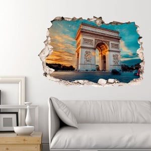 3D samolepka na stenu Ambiance Arc de Triomphe in Paris