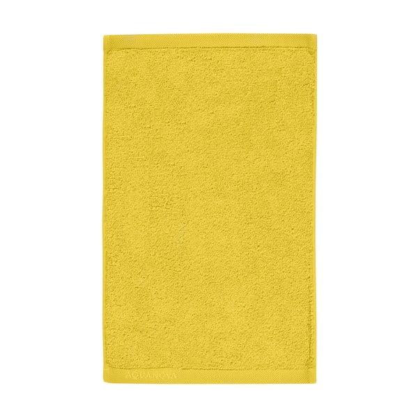 Žltý uterák Aquanova London,30x50cm