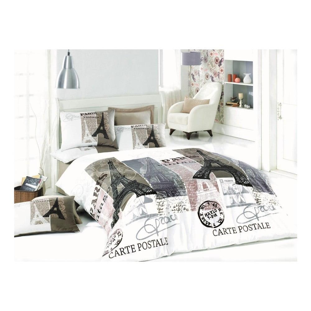 Obliečky s plachtou Paris Mood, 200 × 220 cm
