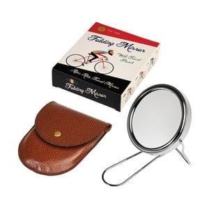 Zrkadlo na holenie s koženkovým puzdrom Rex London Le Bicycle