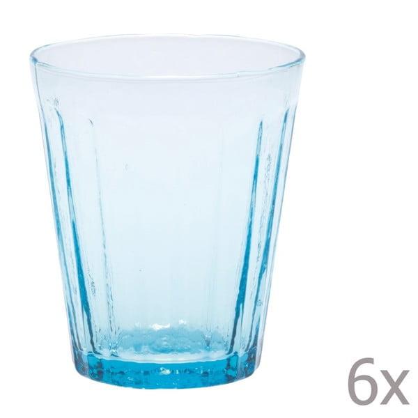 Sada 6 pohárov na vodu Lucca Sky, 450 ml