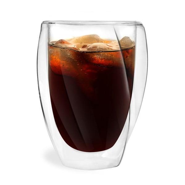 Sada 2 dvojitých pohárov Vialli Design Latte, 300 ml