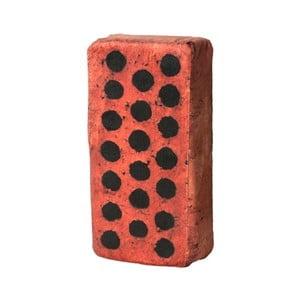 Vankúš v tvare tehly Just Mustard Brick