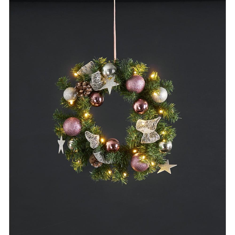 LED svietiaci veniec Best Season Noel, ⌀ 40 cm