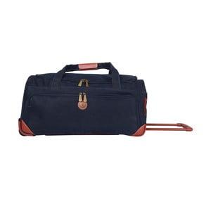 Cestovná taška na kolieskach Jean Louis Scherrer Navy, 60 l