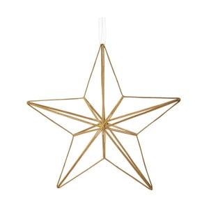 Vianočná závesná ozdoba zo skla Butlers Hviezda