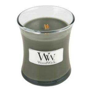 Sviečka s vôňou drevín Woodwick Večer pri táboráku, doba horenia 20 hodín