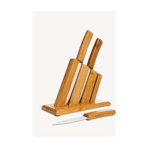 Set 3 nožov a bloku Bambum Vallon