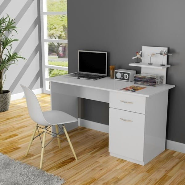 Pracovný stôl Lavanta White