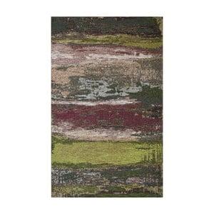 Koberec Eco Rugs Green Abstract, 135×200 cm