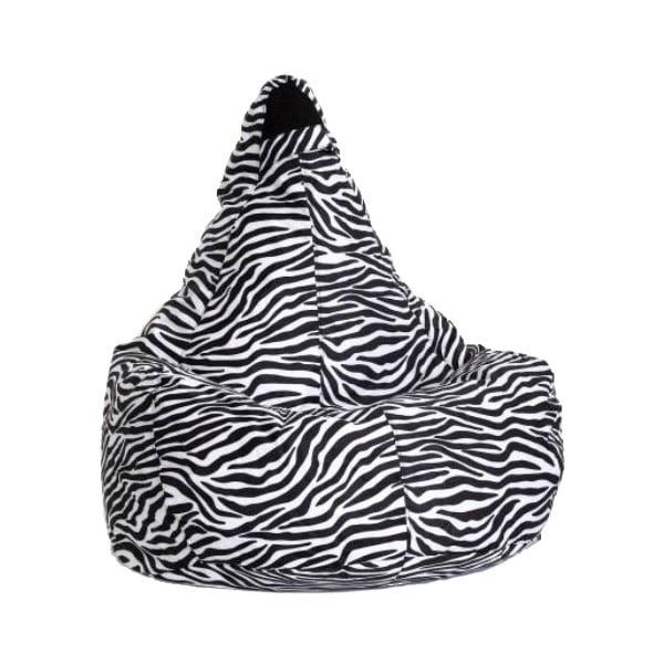 Sedací vak Art Zebra