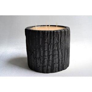 Palmová sviečka Legno Wood s vôňou medu, 120 hodín horenia
