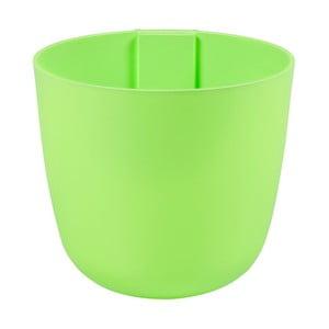 Magnetický kvetináč Bowl 16x14x16 cm, svetlo zelený
