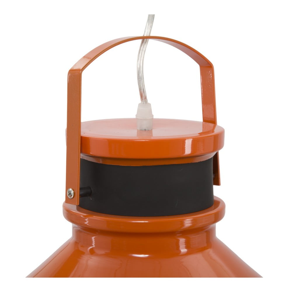Oranžové závesné svietidlo Mauro Ferretti Maine Nechajte sa uniesť značkou Mauro Ferretti a obohaťte váš interiér o netradičné dekorácie, ktoré sú všetkým, len nie obyčajnými a všednými kúskami.