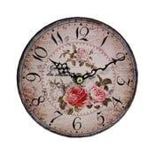 Nástenné hodiny Antic Line Roses