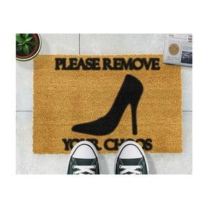 Rohožka Artsy Doormats Remove Shoes, 40 × 60 cm
