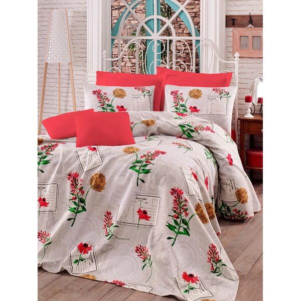 Sada prikrývky, plachty a obliečky na vankúš Love Colors Holly, 160 x 240 cm