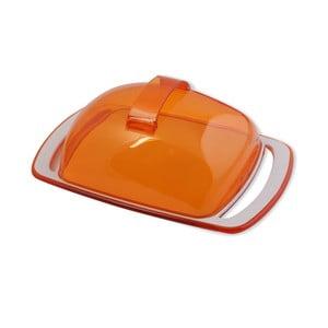 Nádoba na maslo, oranžová
