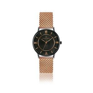 Unisex hodinky z antikoro ocele s remienkom vo farbe ružového zlata Frederic Graff Hypnotic