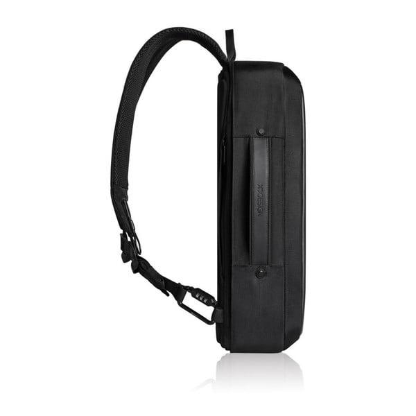 Čierny bezpečnostný batoh XD Design Bobby Bizzy, 10 l
