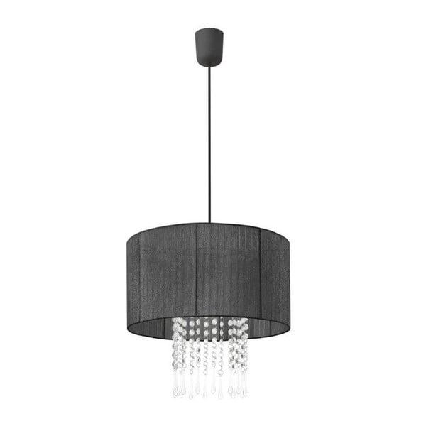 Stropná lampa Venecia, čierna
