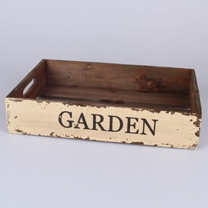 Drevená tácka Garden, 34x22 cm