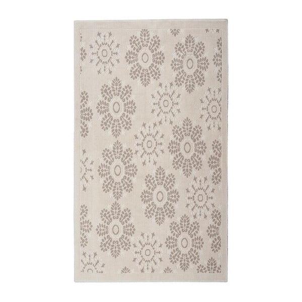 Bavlnený koberec Randa 100x200 cm, krémový