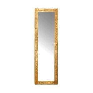 Zrkadlo s rámom z masívneho mangového dreva Massive Home Ella, dĺžka 170 cm