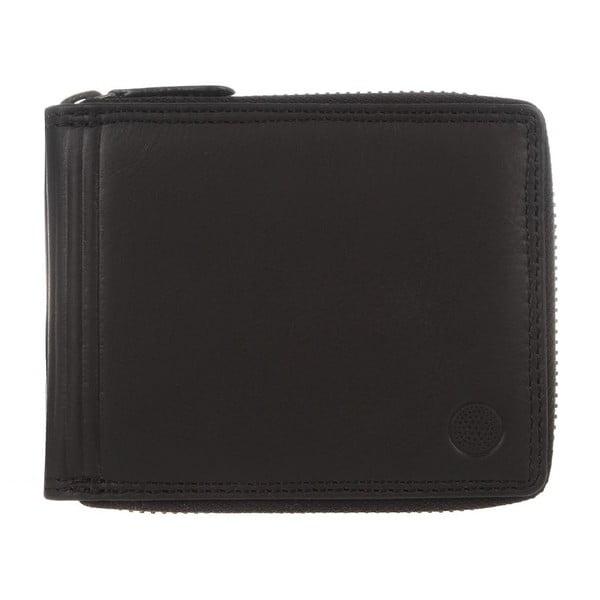 Kožená peňaženka Chief Black Veg