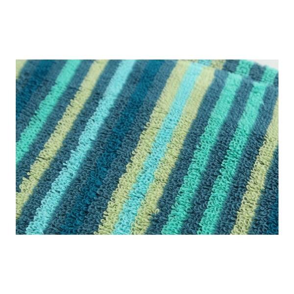 Set 2 osušek Bold Blue, 70x140 cm