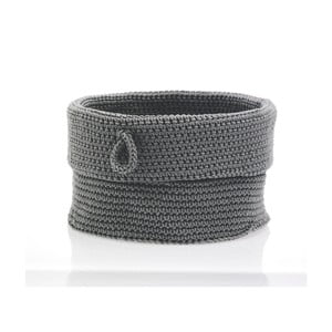 Košík Confetti Grey, 19 cm