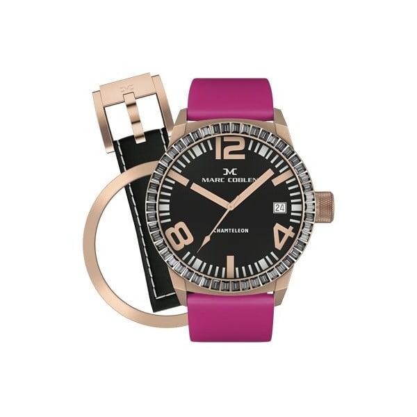 Dámske hodinky Marc Coblen s remienkom a krúžkom na ciferník naviac P34