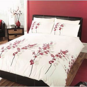 Obliečky Oriental Flower Red, 135x200 cm
