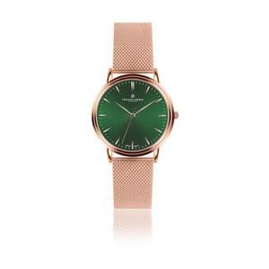 Unisex hodinky s antikoro remienkom v ružovozlatej farbe Frederic Graff Green