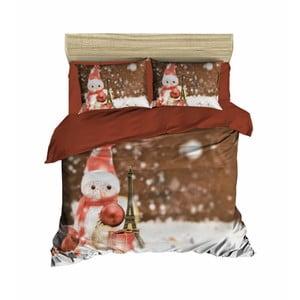 Vianočné obliečky na dvojlôžko s plachtou David, 200×220 cm