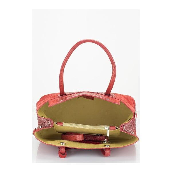 Kožená kabelka Markese 1160 Bordo