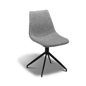 Svetlosivá jedálenská stolička Furnhouse Isabel