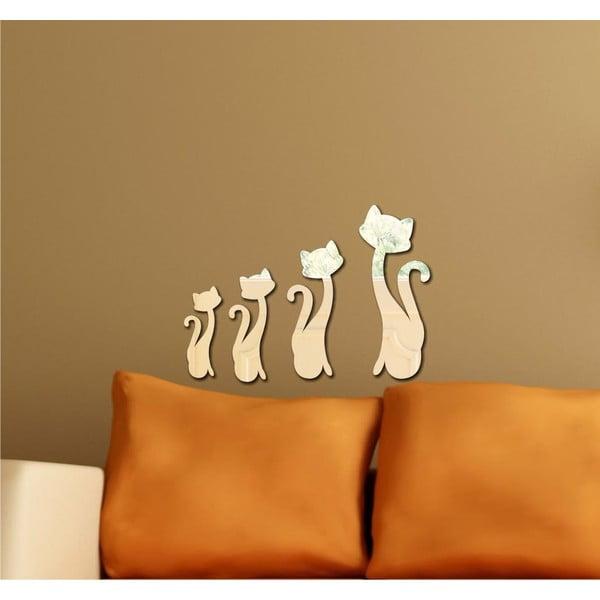 Dekoratívne zrkadlo Cats