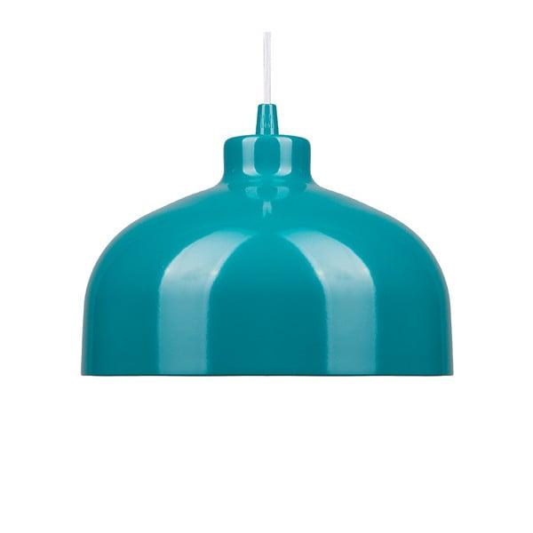 Tyrkysové stropné svetlo Loft You B&B, 33 cm
