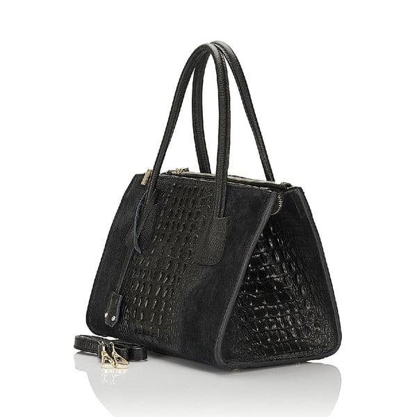 Kožená kabelka Giorgio Costa 15018 Black