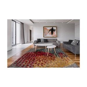 Ručne vyšívaný koberec Arte Espina Damast 300, 80 × 150 cm